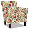 Hickory Craft 060110 Accent Chair - Item Number: 060110-LUNA-25