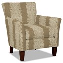 Hickory Craft 060110 Accent Chair - Item Number: 060110-ORNATE-10