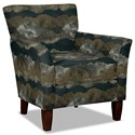 Hickory Craft 060110 Accent Chair - Item Number: 060110-PANORAMA-23