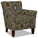 Hickory Craft 060110 Accent Chair - Item Number: 060110-RIOLLO-23