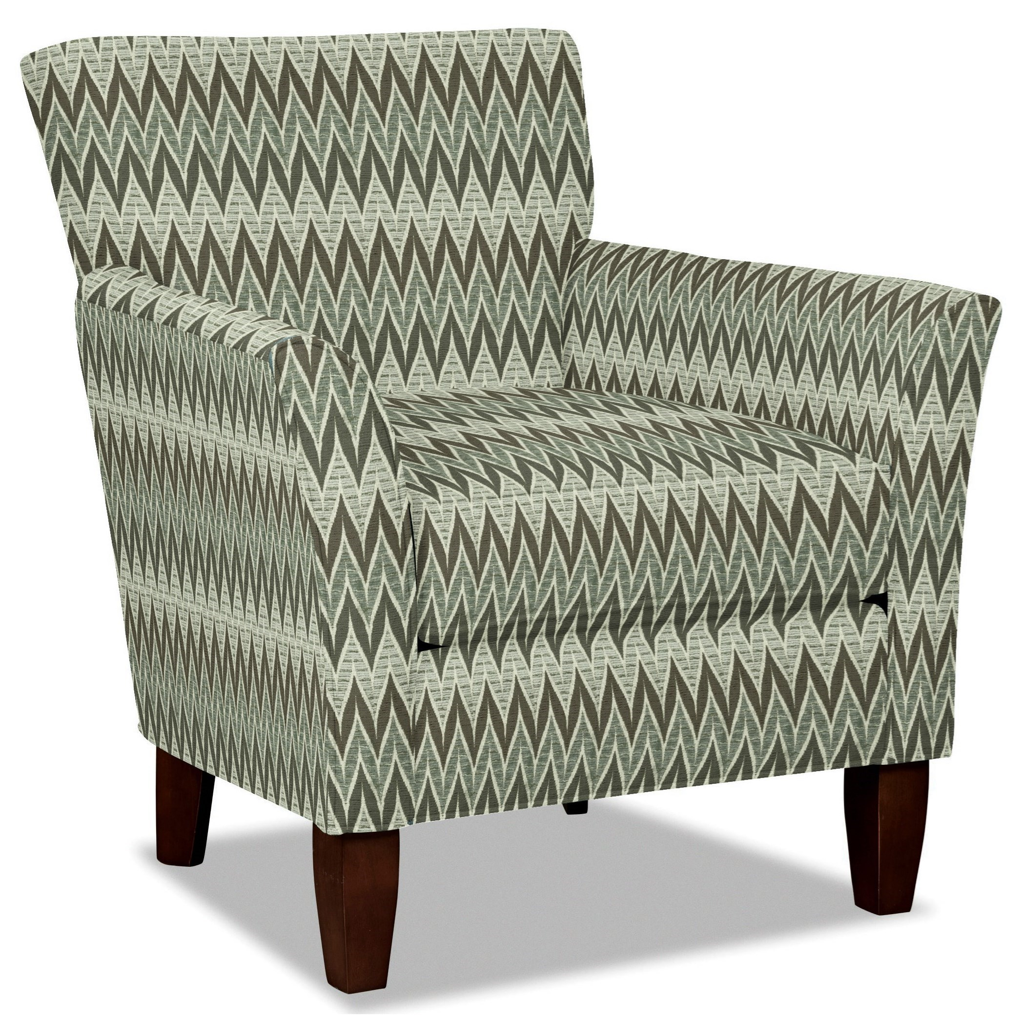 Craftmaster 060110 Accent Chair - Item Number: 060110-SEISMIC-22