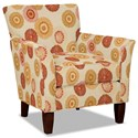 Hickory Craft 060110 Accent Chair - Item Number: 060110-STARBRIGHT-02