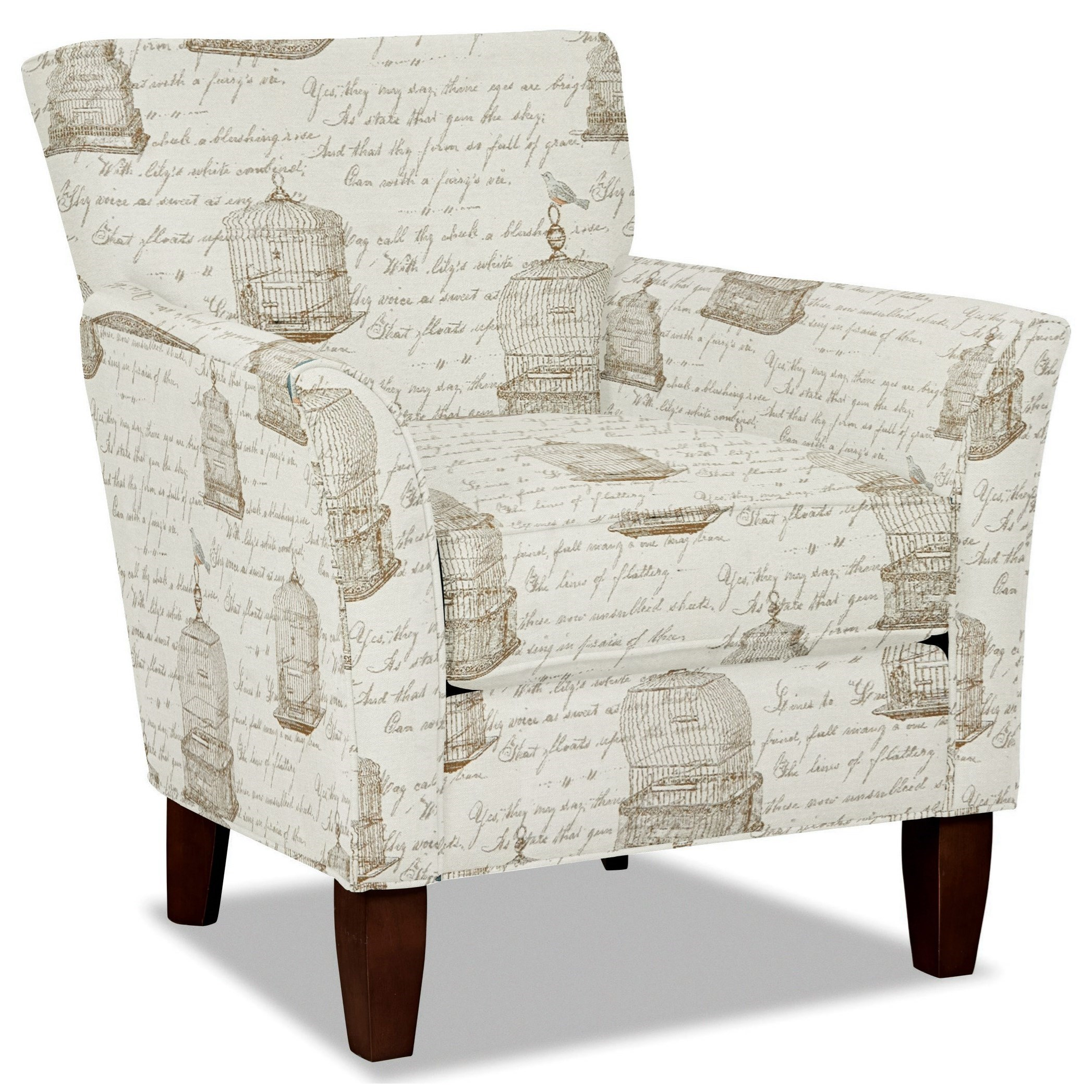 Craftmaster 060110 Accent Chair - Item Number: 060110-SYLVESTER-21
