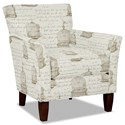 Hickory Craft 060110 Accent Chair - Item Number: 060110-SYLVESTER-21