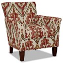 Hickory Craft 060110 Accent Chair - Item Number: 060110-TARASCAN-26