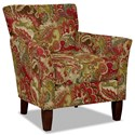 Hickory Craft 060110 Accent Chair - Item Number: 060110-TEAK-26