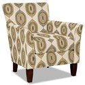 Hickory Craft 060110 Accent Chair - Item Number: 060110-TRAVELER-02