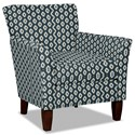 Hickory Craft 060110 Accent Chair - Item Number: 060110-TRIDENT-23