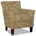 Hickory Craft 060110 Accent Chair - Item Number: 060110-WEST GATE-10