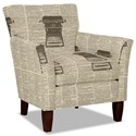 Hickory Craft 060110 Accent Chair - Item Number: 060110-WORDSMITH-10