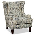 Craftmaster 074710 Wing Chair - Item Number: 074710-DANIQUE-23