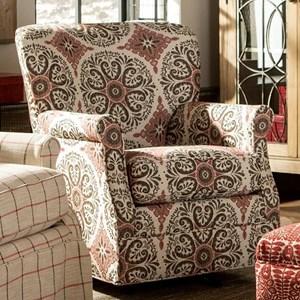 Craftmaster 075110 Swivel Glider Chair