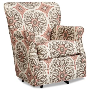 Craftmaster 075110 Swivel Glider Chair