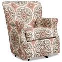Hickory Craft 075110 Swivel Chair - Item Number: 075210SC-RICARDA-26