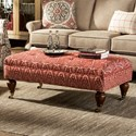 Craftmaster 075300 Ottoman w/ Casters - Item Number: 075300-WONDERWALL-26