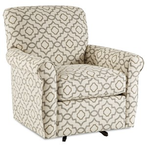Craftmaster 075610-075710 Swivel Chair