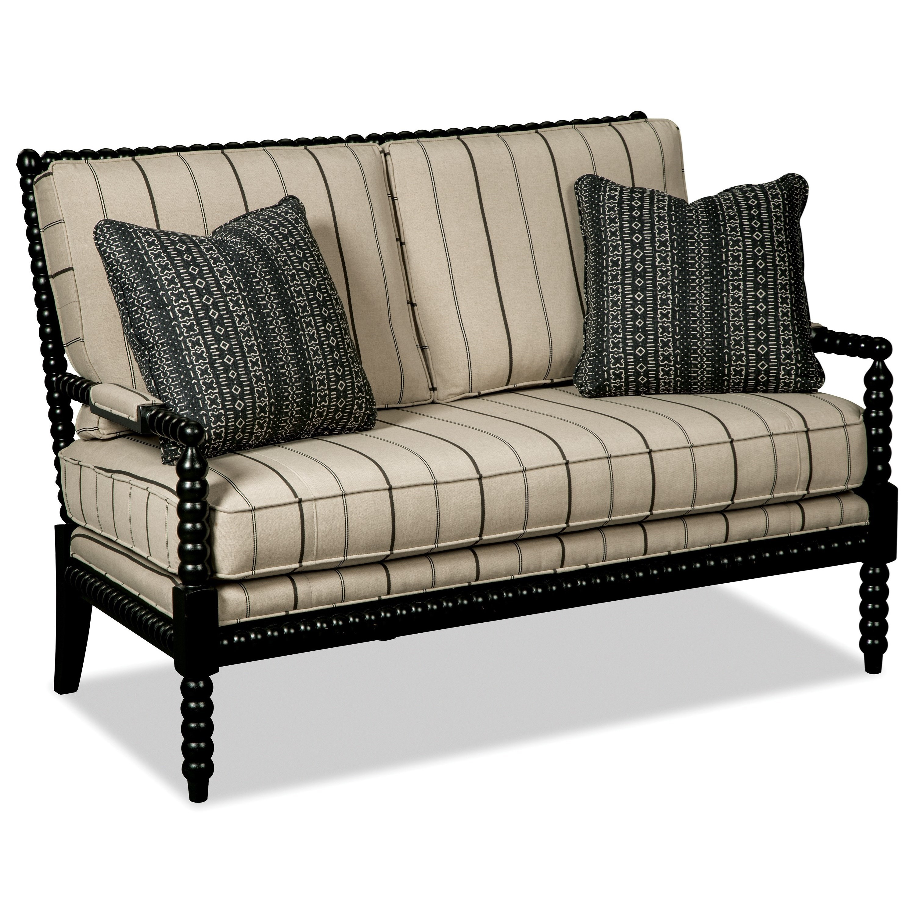 Craftmaster 077230 Settee - Item Number: 077230-CEVICHE-10