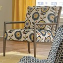 Craftmaster 082210 Accent Chair - Item Number: 082210-BOUQUET-23