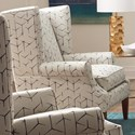 Craftmaster 083610 Wing Chair - Item Number: 083610BD-LUMAS-23