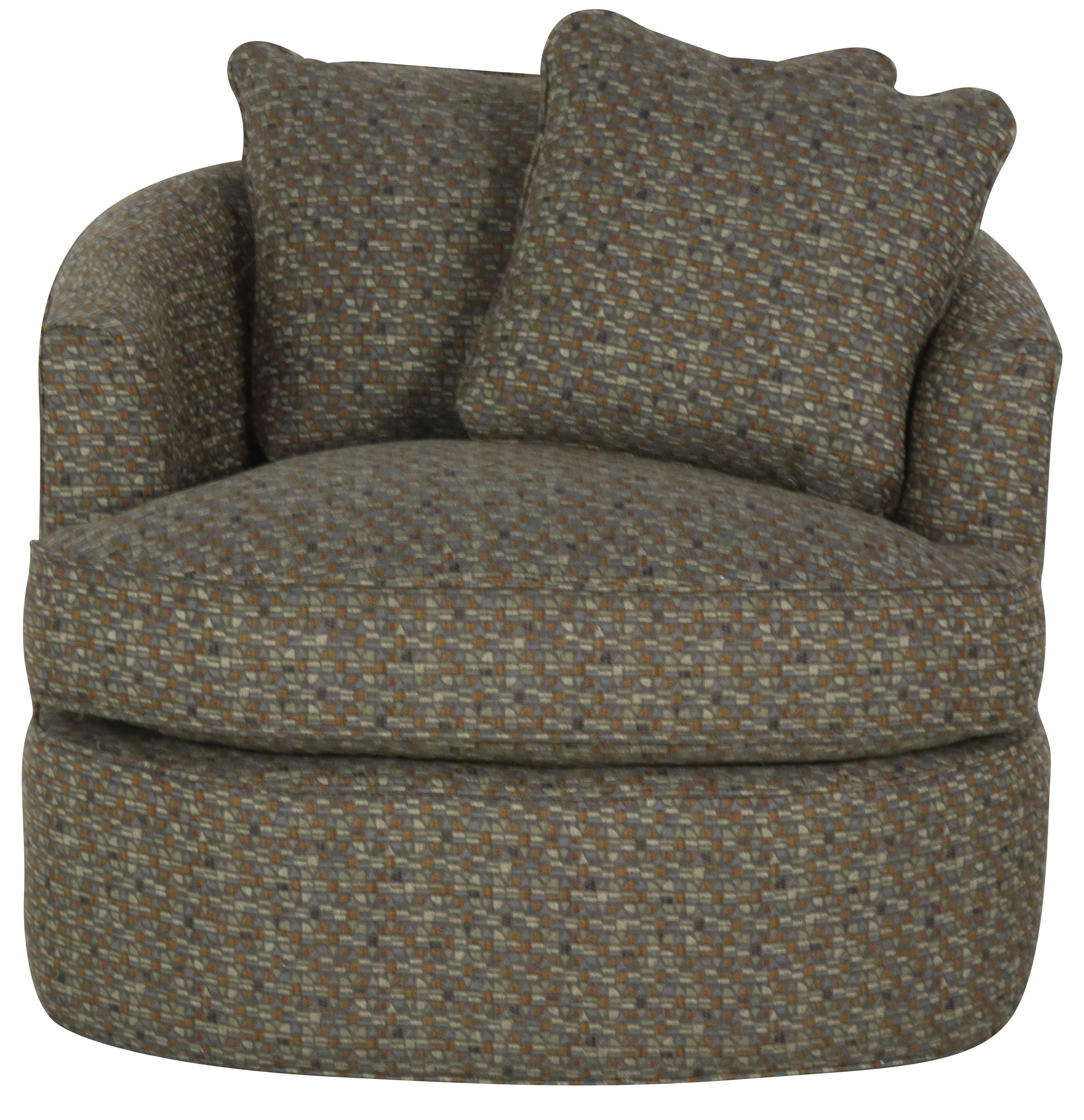 085710 Swivel Chair by Cozi Life Upholstery at Sprintz Furniture