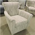 Craftmaster 093110 Swivel Glider Chair - Item Number: 093110SG-Taj Mahal-31