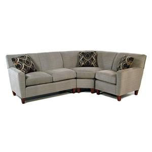 Cozy Life Samba 3 Pc Sectional Sofa w/ LAF Loveseat