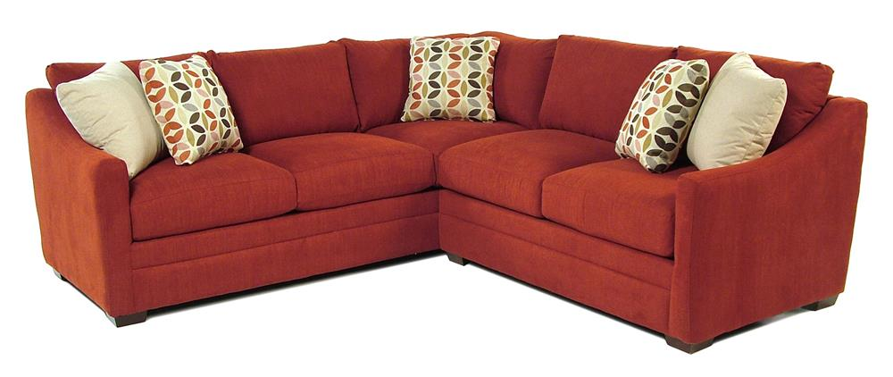 Cozy Life F9 Custom Collection Kalena 2-Piece Sectional - Item Number: F932256+31