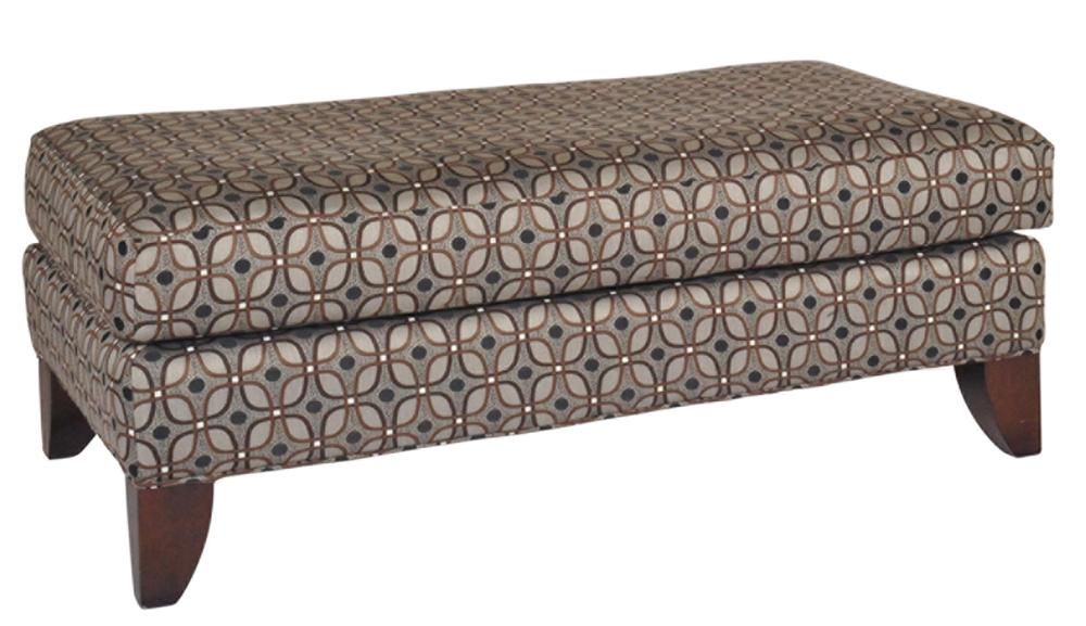 Morris Home Furnishings Andrew Andrew Cocktail Ottoman - Item Number: 117140171