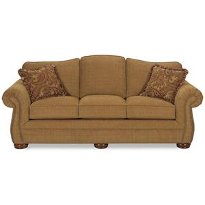 Craftmaster 2675 Sofa w/ Regular Brass Nails