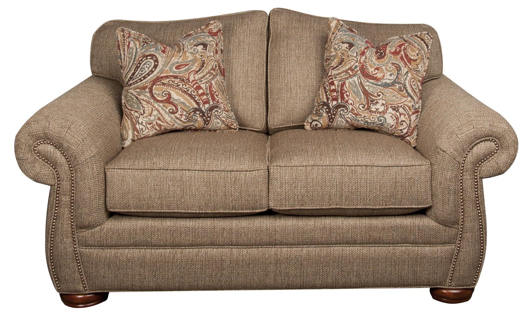 Morris Home Furnishings Rosemary Rosemary Loveseat - Item Number: 104251309