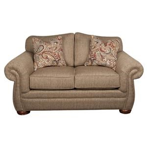 Morris Home Furnishings Rosemary Rosemary Loveseat