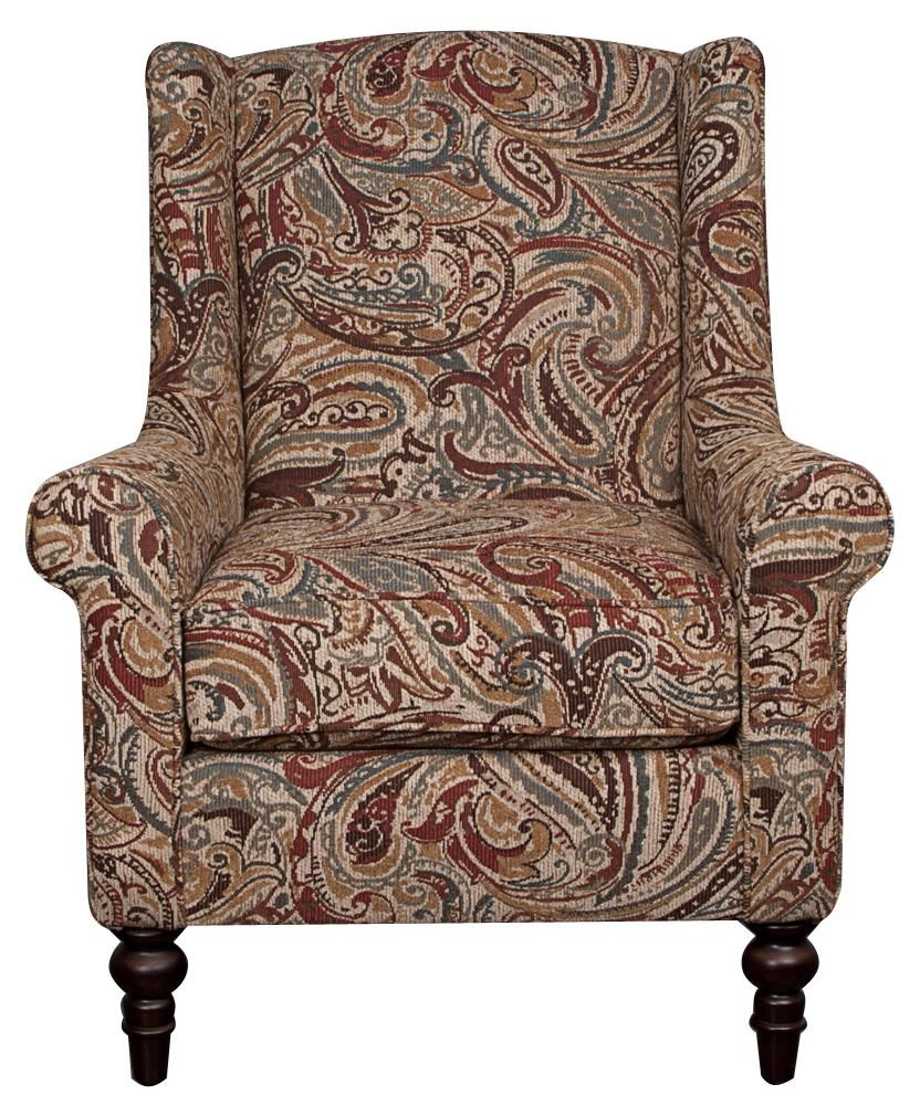 Morris Home Furnishings Rosemary Rosemary Accent Chair - Item Number: 110269957