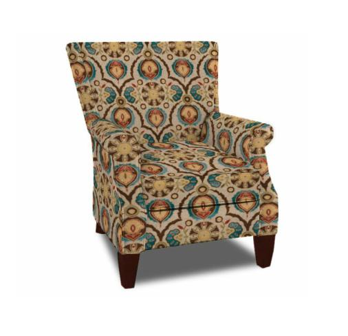 Craftmaster Accent Chairs Chair with Rolled Arm - Item Number: 061334746