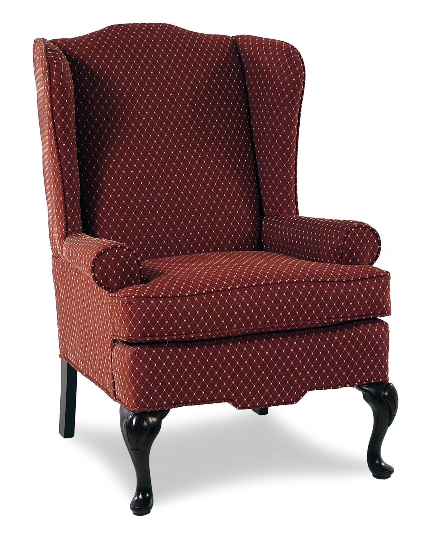 Cozy Life Audrey Upholstered Wing Chair - Item Number: 0375-AUDREY26