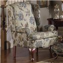 Craftmaster 375  Upholstered Wing Chair - Item Number: 375-ASHWOOD-21