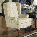 Craftmaster 4200 Traditional Wing Chair - Item Number: 0375-TARGET-10