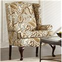 Craftmaster 4200 Traditional Wing Chair - Item Number: 0375-ZINNIA-10