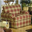 Cozy Life 4550 Casual Upholstered Stationary Chair