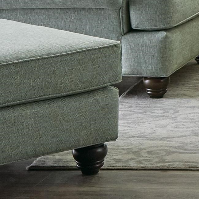 700450 Ottoman by Hickory Craft at Godby Home Furnishings