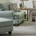 Craftmaster 700450 Chair & Ottoman - Item Number: 700420+700400-TOLLIVER-21