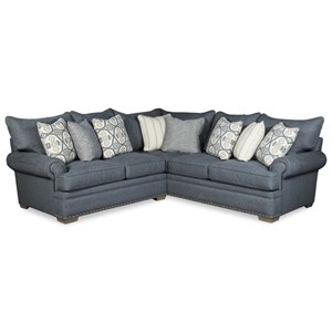 4-Seat Sectional Sofa w/ LAF Loveseat