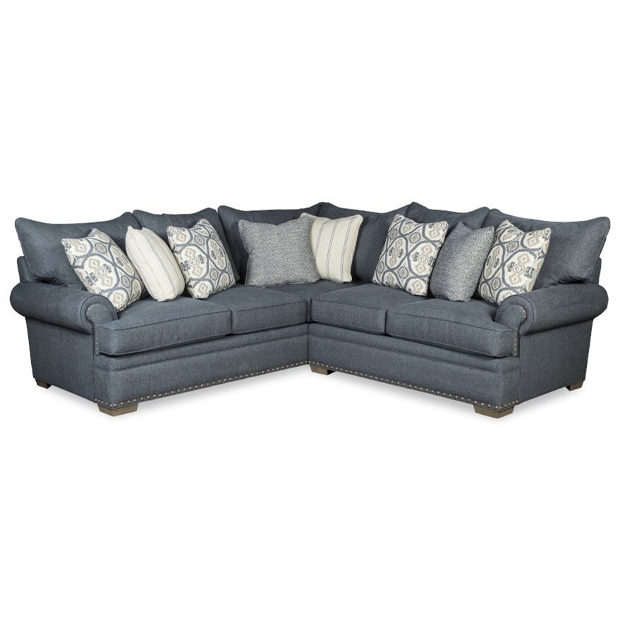 4-Seat Sectional Sofa w/ RAF Loveseat