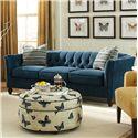 Craftmaster 724450 Sofa - Item Number: 724450-BURNISH-22