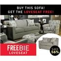 Main & Madison Betsy Betsy Sofa and Freebie Loveseat - Item Number: 817307516