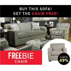 Betsy Sofa and Freebie Chair