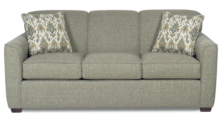 Craftmaster 7255 Contemporary Sleeper Sofa With Flared