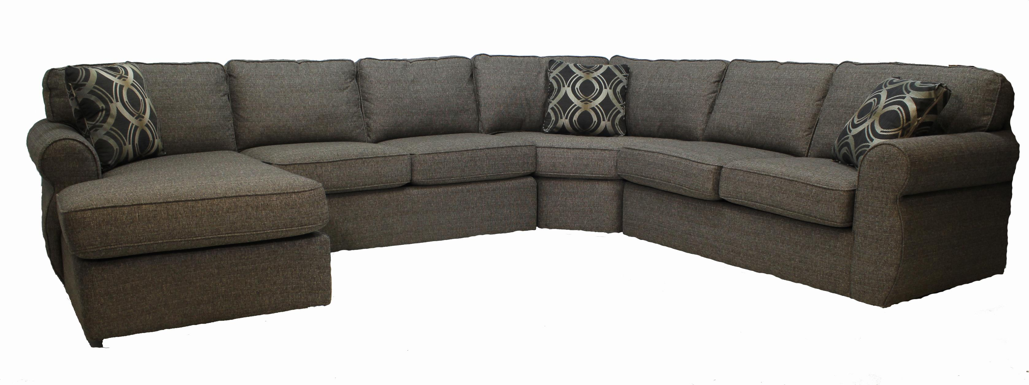 Craftmaster 730114 4-Piece Sectional - Item Number: 730114