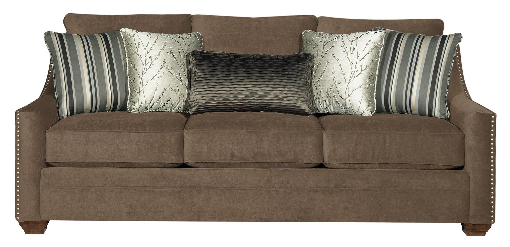 Craftmaster 7335 Sofa - Item Number: 733550-BURNISH-09