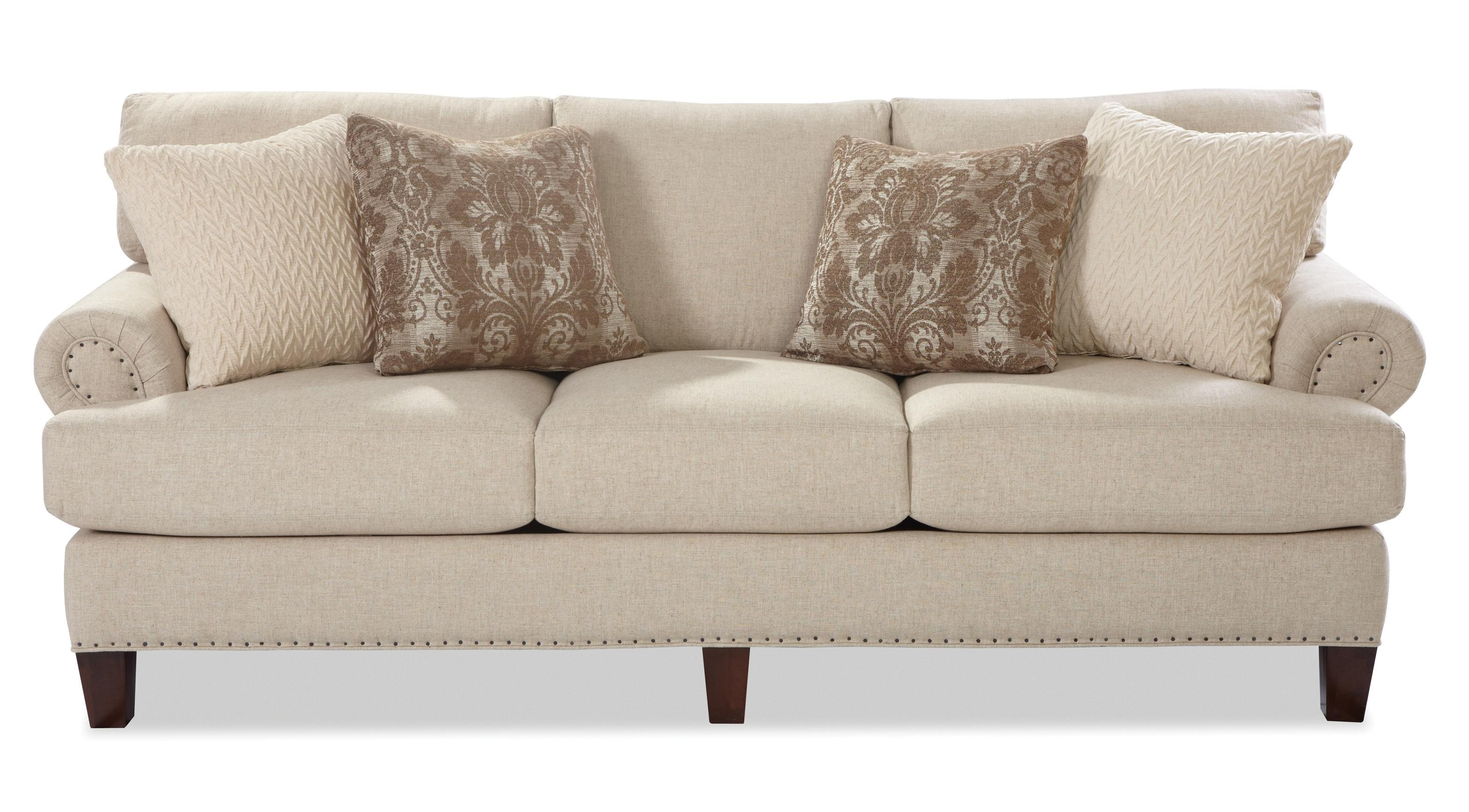 Craftmaster 7405 Sofa - Item Number: 740550-HOPSACK-10
