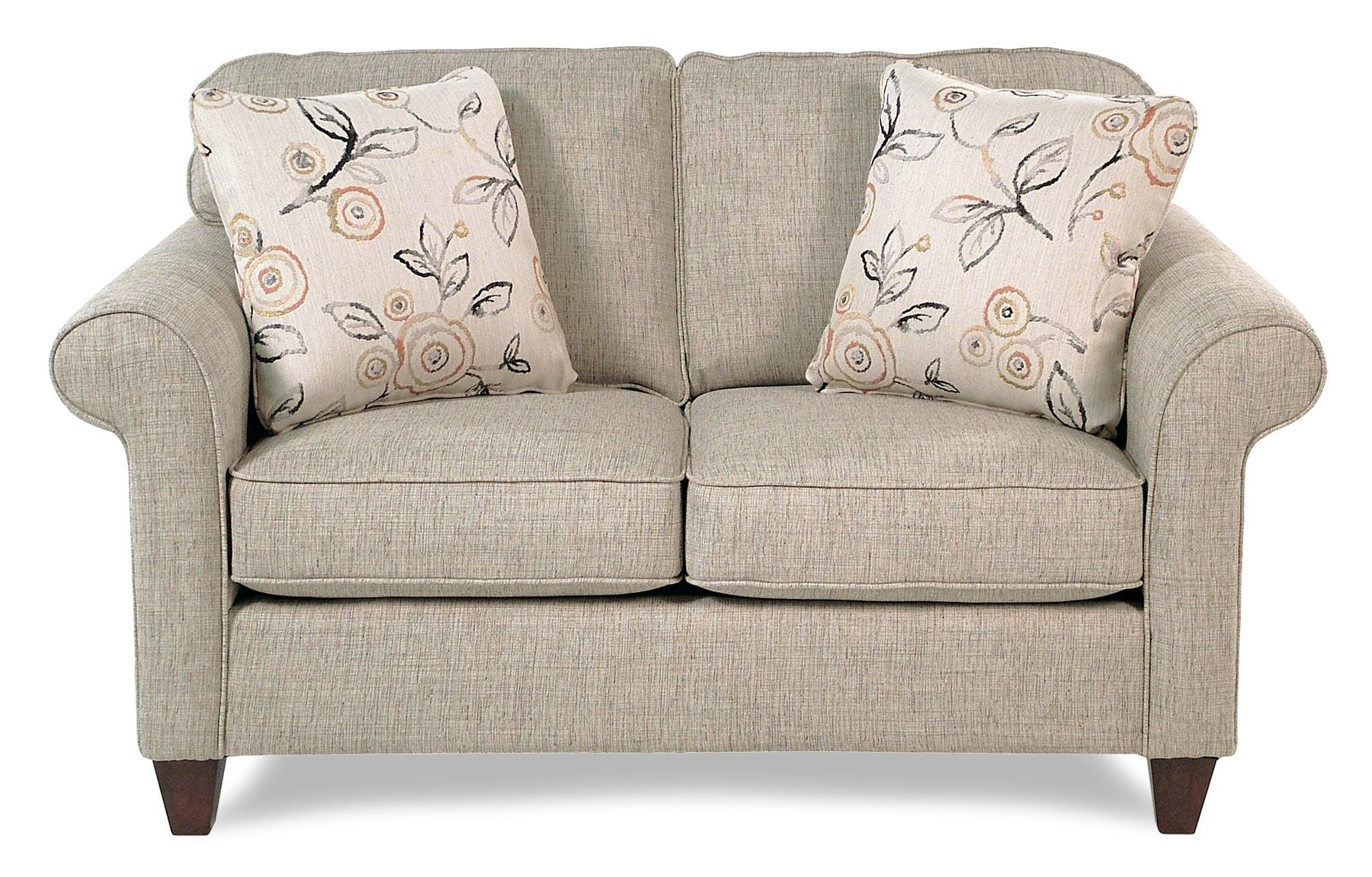 Cozy Life Jarvis Transitional Loveseat W/ Rolled Arms   Item Number:  742130 BREAKOUT10